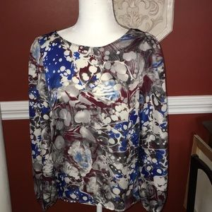 Fab'rik top, gorgeous colors and style! Springy!